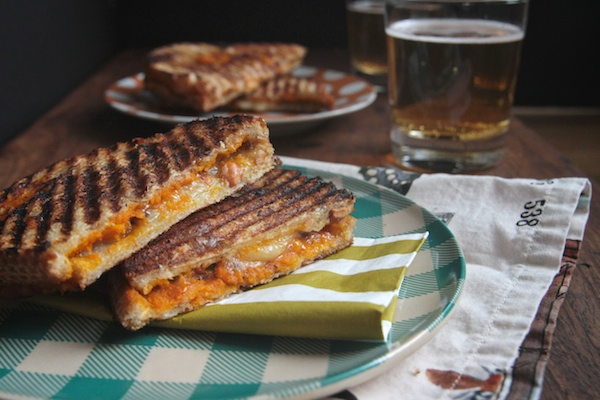 Pumpkin Hazelnut Grilled Cheese