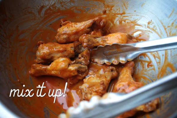 how to make crispy hot wings
