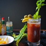 Tomato-Parsley Bloody Marys // shutterbean