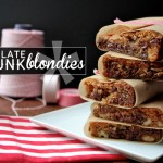 CHOCOLATE CHUNK BLONDIES // shutterbean