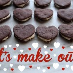 Chocolate Heart Sandwich Cookies // shutterbean
