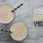 HONEY-BANANA SMOOTHIE // shutterbean