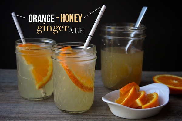 Orange Honey Ginger Ale