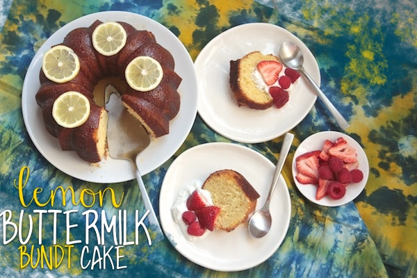 Lemon Buttermilk Bundt Cake // shutterbean