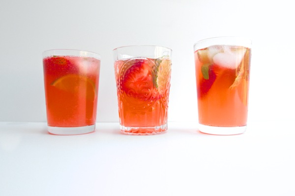 Strawberry Ginger Punch // shutterbean