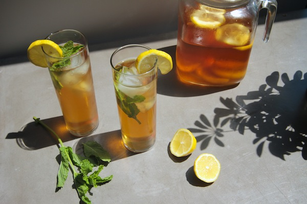 Mint Iced Tea // shutterbean