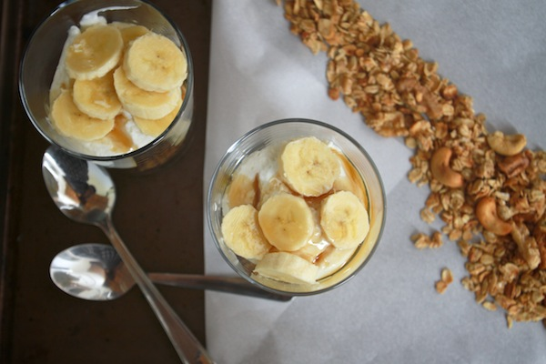 Problem solved. Banana Walnut Granola it is. Now I don't have to eat ...