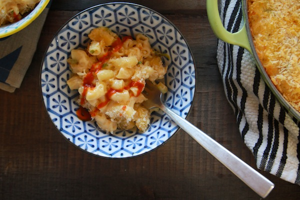 Sriracha Mac + Cheese // shutterbean