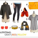 OUTFITTING: GRAY/RED/YELLOW