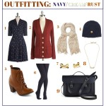 Outfitting: Navy/Cream/Rust