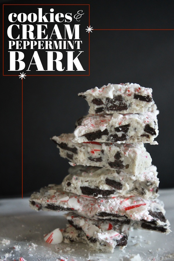 Cookies & Cream Peppermint Bark