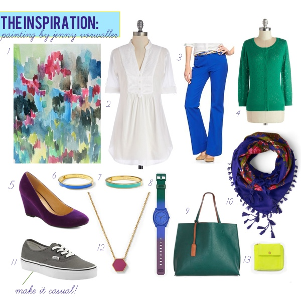 OUTFITTING: Painting Inspiration