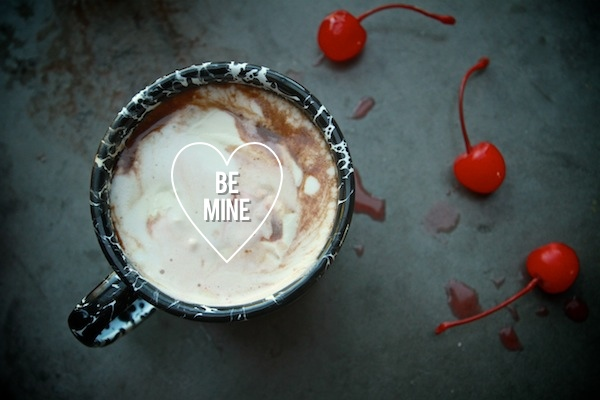 Cherry Vanilla Hot Chocolate // shutterbean