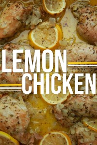 Lemon Chicken // shutterbean