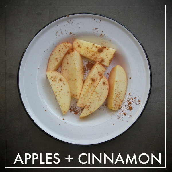 Apples + Cinnamon