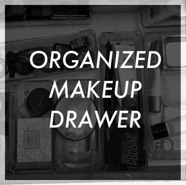 HS: Organized Makeup Drawer