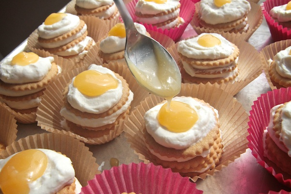 Lemon Icebox Cupcakes // shutterbean