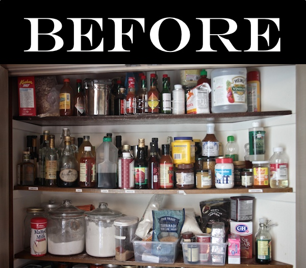 Organizing Pantry Shelves Realistically Organized Pantries: HS: The Organized Pantry