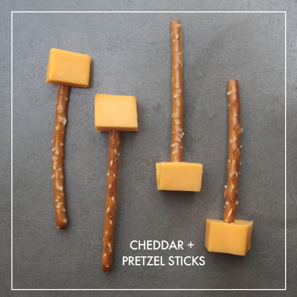 Cheddar + Pretzel Sticks