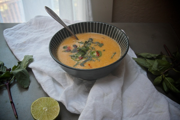 Thai Corn Coconut Soup // shutterbean