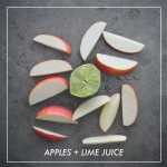 Apples + Lime Juice // shutterbean