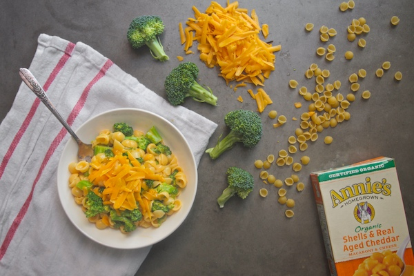 Broccoli Cheddar Mac // shutterbean