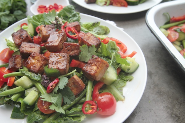 Chopped Thai Salad with Tofu // shutterbean