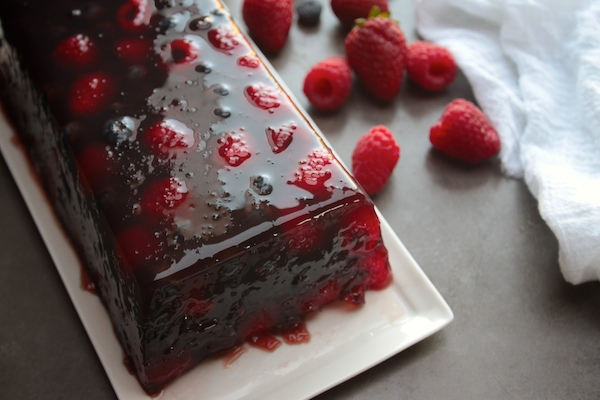 Triple Berry Terrine // shutterbean