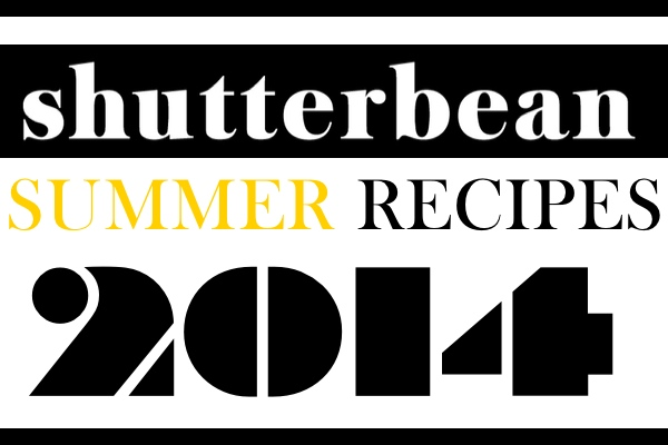 Shutterbean Summer Recipes 2014