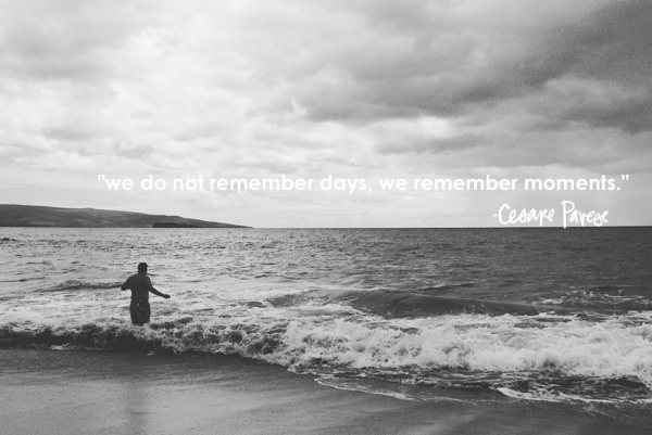 We do not remember days // shutterbean