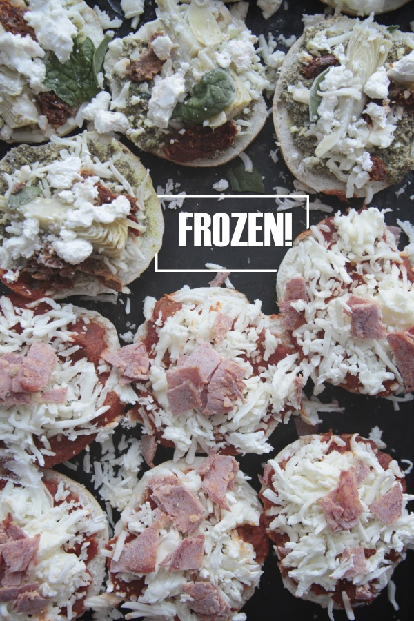 Make Your Own PIZZA BAGELS!! // shutterbean