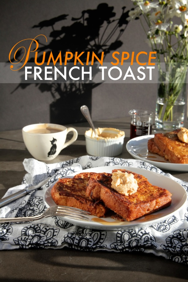 Pumpkin Spice French Toast // shutterbean