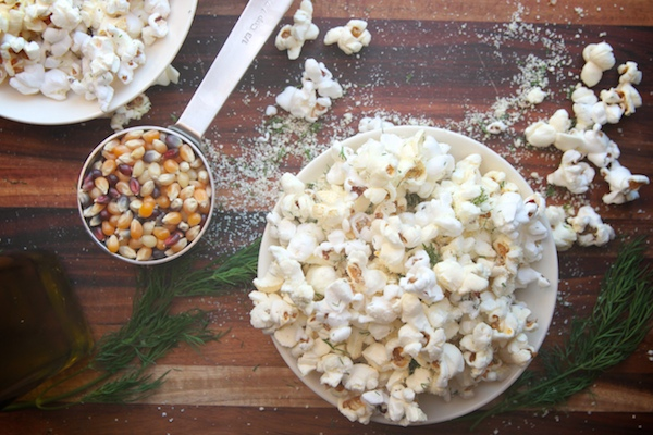 Sour Cream + Onion Popcorn // shutterbean