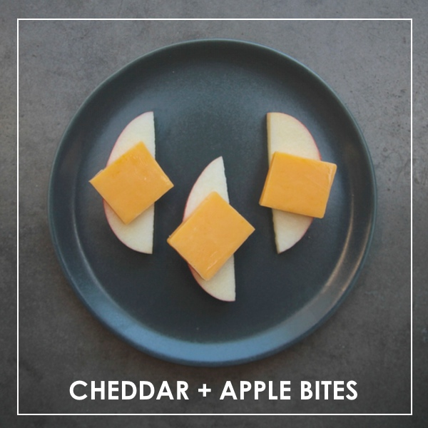 CHEDDAR APPLE BITES