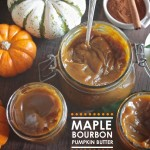 Maple Bourbon Pumpkin Butter // shutterbean