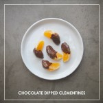 Chocolate Dipped Clementines // shutterbean