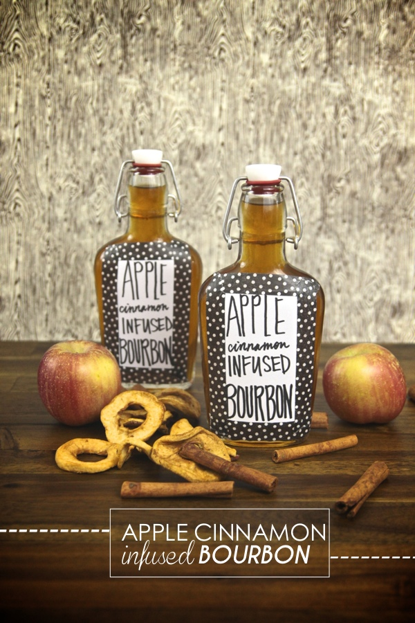 Apple Cinnamon Infused Bourbon