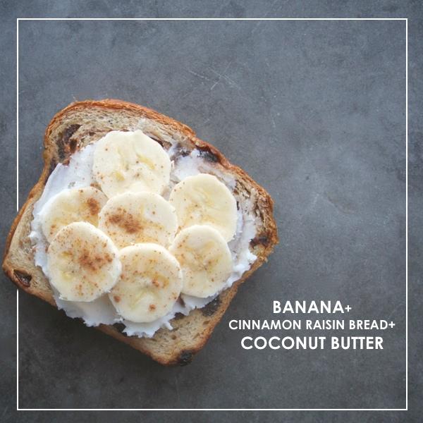 Cinnamon Raisin Bread + Coconut Butter