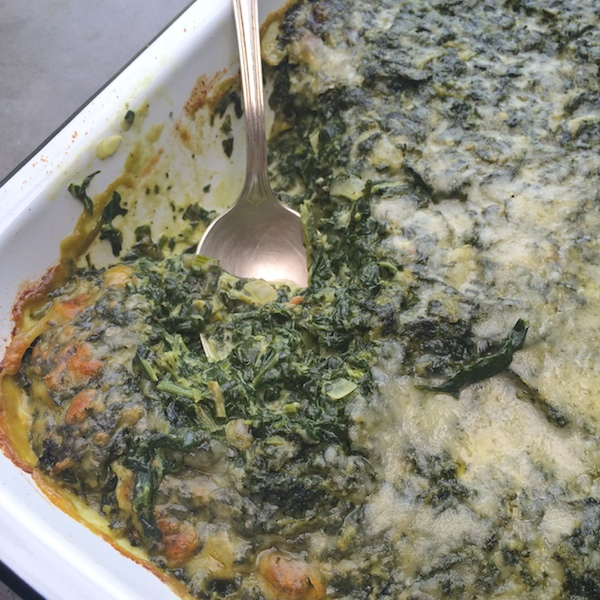 The Best Creamed Spinach // shutterbean