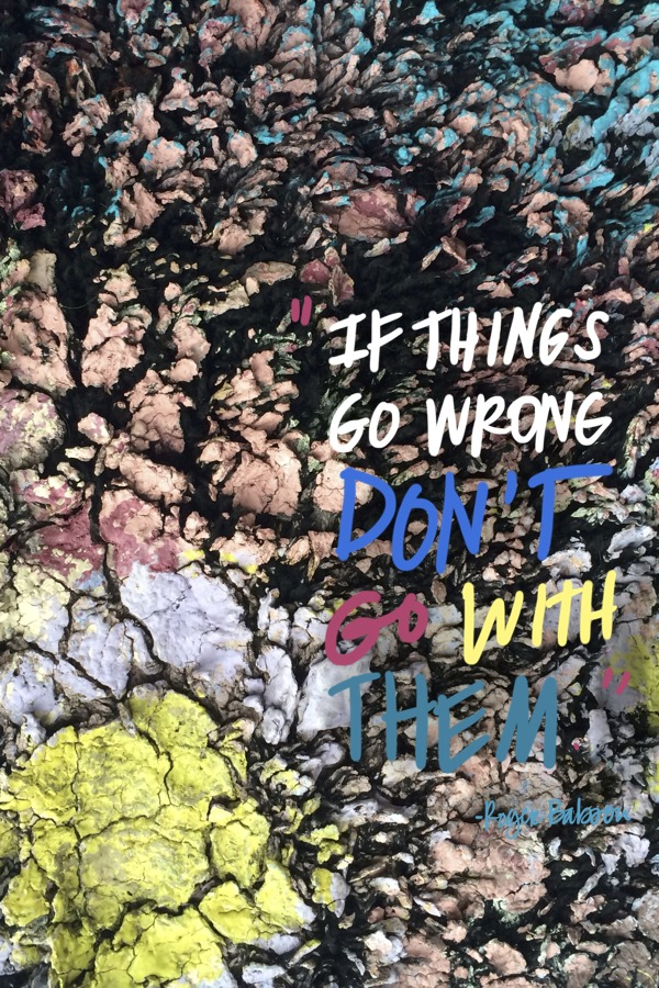 If things go wrong // shutterbean