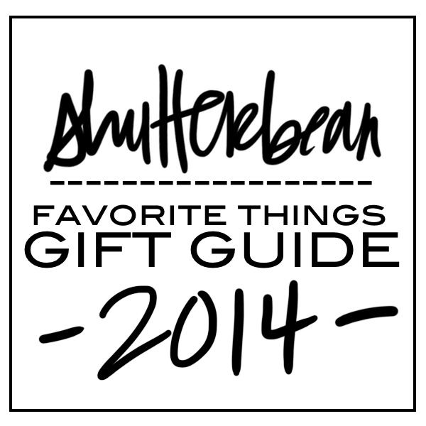 Shutterbean Favorite Things GIFT GUIDE!!