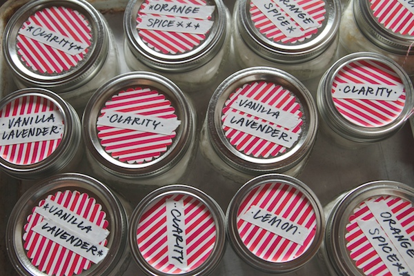 Homemade Sugar Scrubs // shutterbean