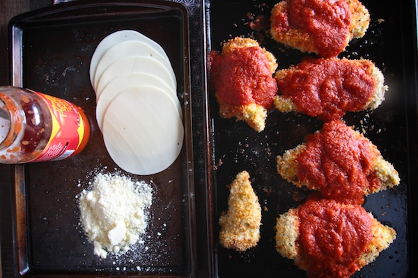 Baked Chicken Parmesan- recipe on Shutterbean.com