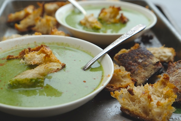 Cream of Spinach Soup // shutterbean