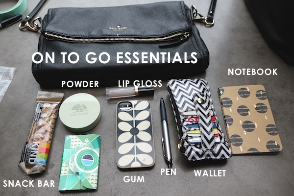 Creating a Purse Organization System // shutterbean