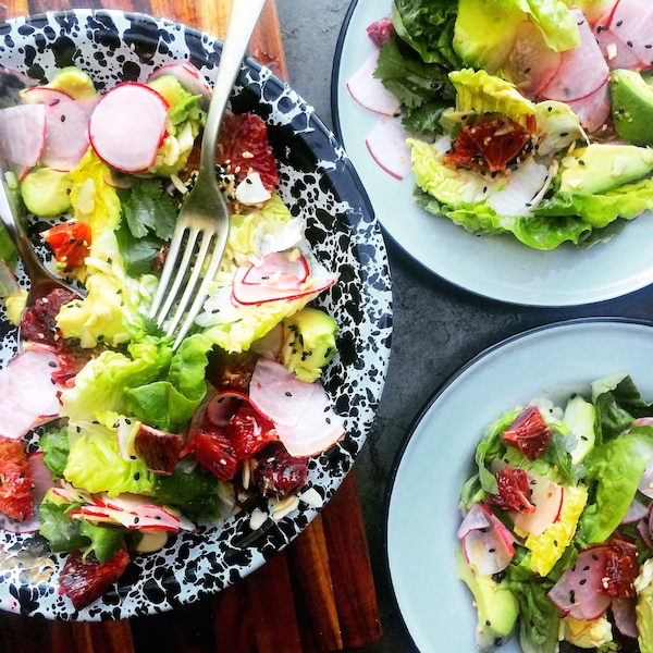 Blood Orange & Avocado Salad  || shutterbean  || shutterbean