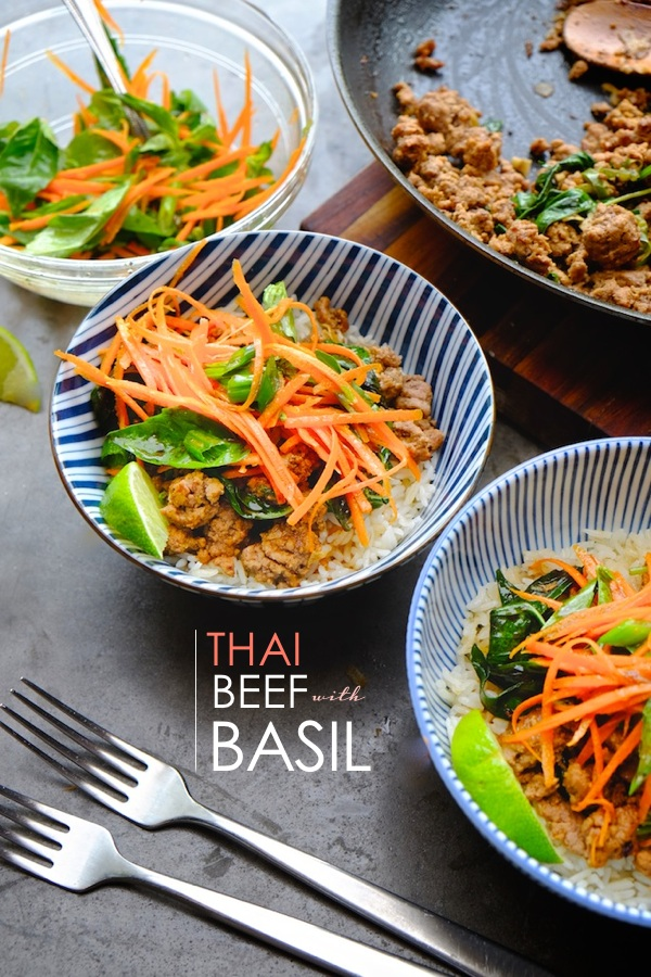 Turn a pound of ground beef into a delicious Thai Feast. Check out the recipe for Thai Beef with Basil on Shutterbean.com !