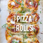 Pizza Rolls are like a cinnamon roll but PIZZA!  Turn store bought pizza dough into a quick weeknight dinner. Find the recipe at Shutterbean.com