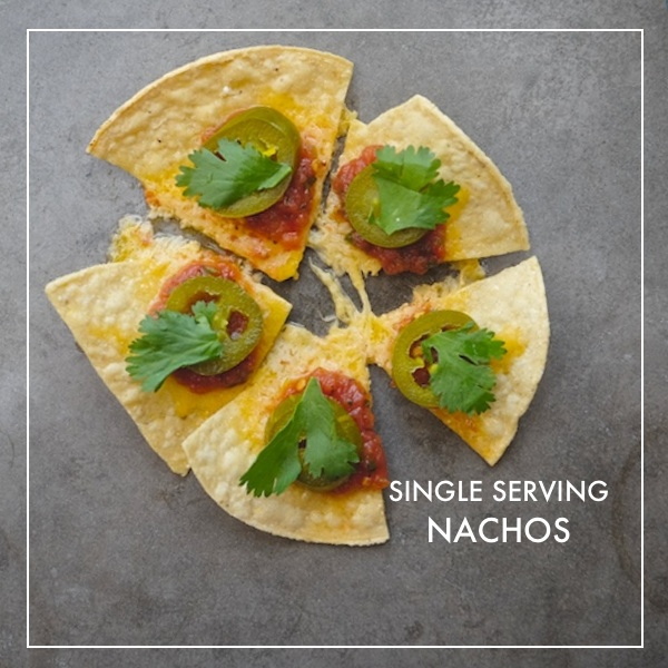 Single Serving Nachos // shutterbean