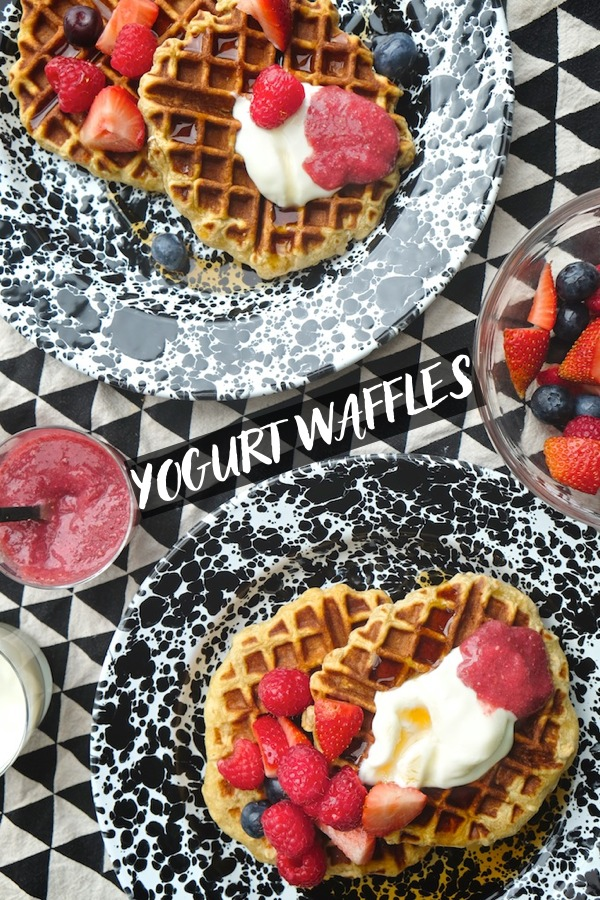 Add a new waffle recipe to your repertoire! Don't have buttermilk? No problem. Use yogurt! Find the recipe at Shutterbean.com !